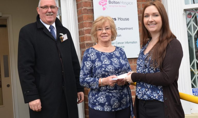 Kitchener Lodge 3788 Supports Bolton Hospice