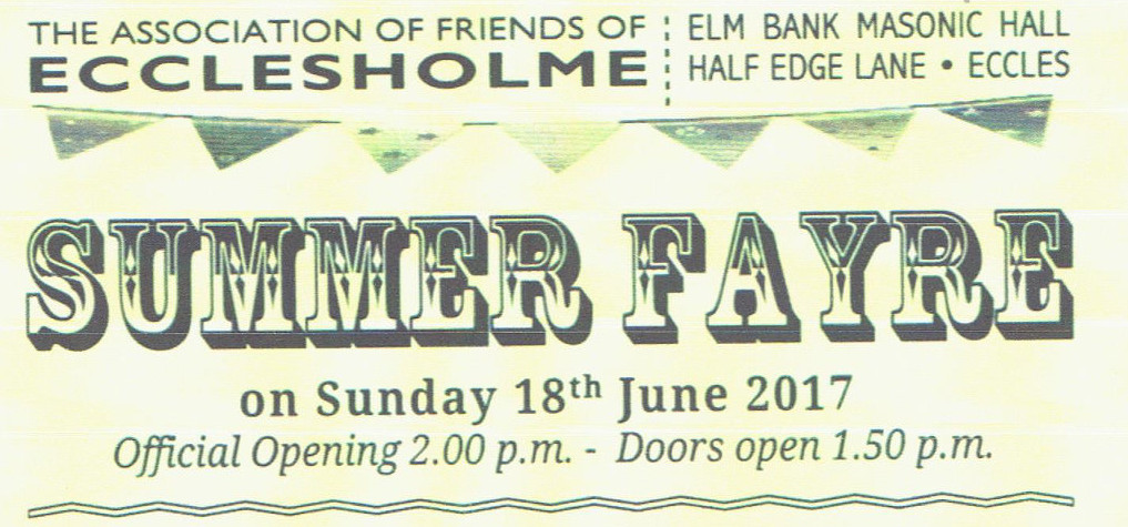 The Ecclesholme Summer Fair