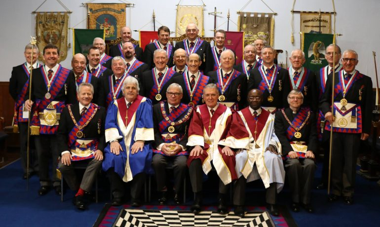 Passing Of The Veils Presentation Euclid Installed Principals' Chapter 9468