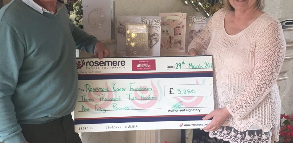 Raising Funds For Rosemere Cancer Foundation