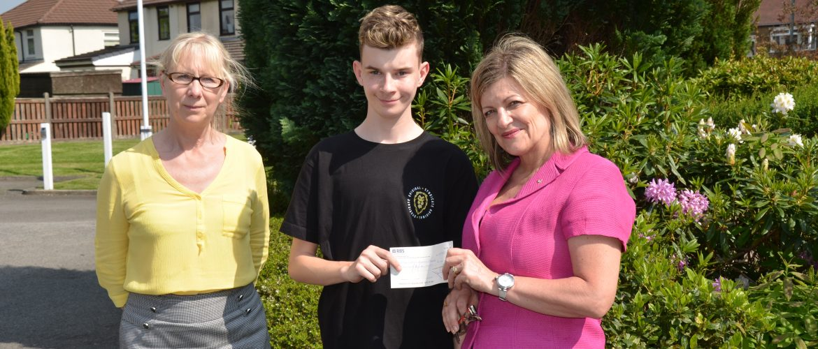 Cheque Presentation to the Manchester Bomb Appeal