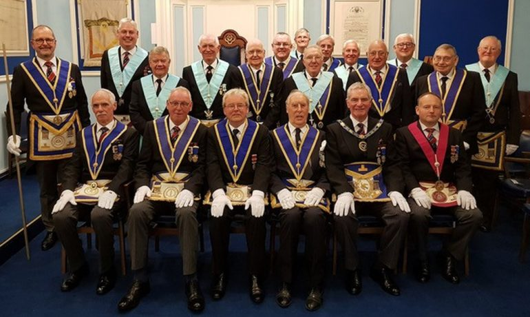 WBro Brian Robson Smith PProvSGD Celebrates 50 Years as a Freemason