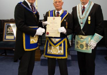 WBro Stanley Reynolds Celebrates 50 years at Egerton Lodge