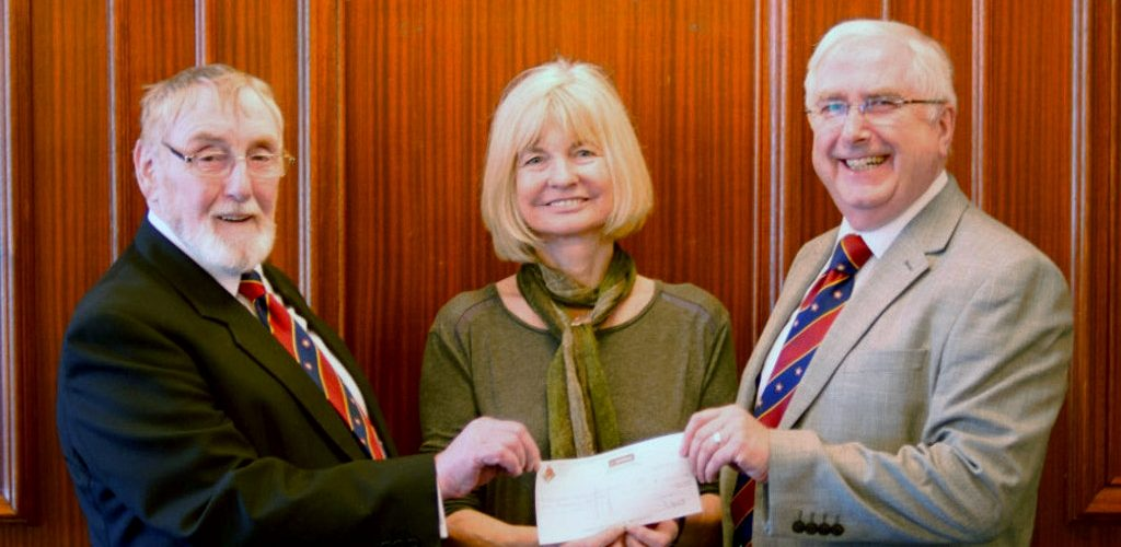 ELMC Donation to the Margaret Haes Riding Centre