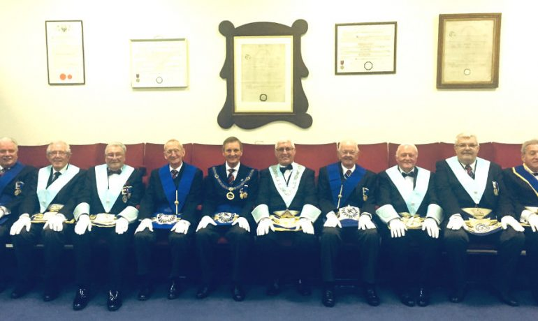 Final Meeting of Blakewater Lodge of Installed Masters No.9574