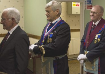 An Exaltation Ceremony at Derby Chapter 1055