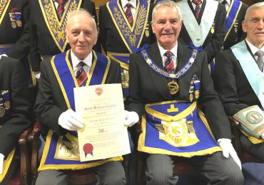 WBro Keith W Clayton Celebrates 50 years in Freemasonry