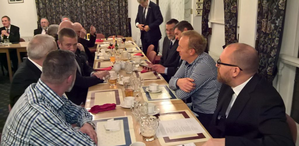 White Table Evening at Royal Lancashire Lodge 116