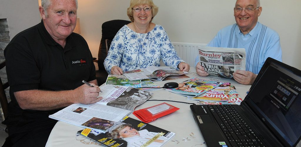 Burnley Talking Newspaper gets welcome boost from Local Freemasons