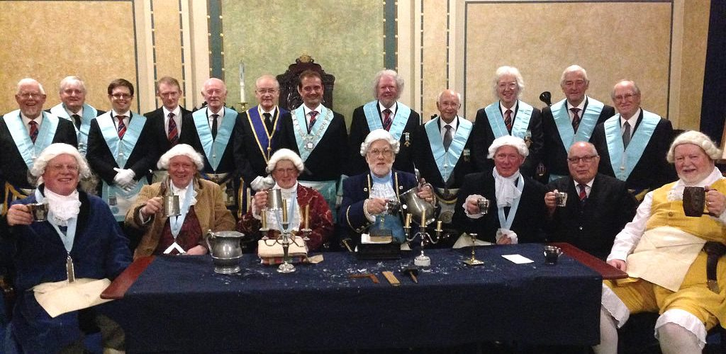 A Demonstration of Enactment of a 1777 Lodge Meeting and Initiation Ceremony
