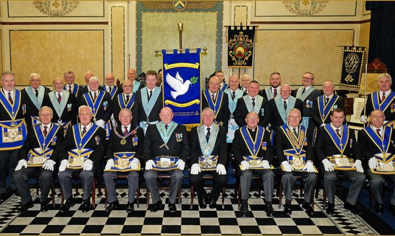 Hope Lodge No.54 Worshipful Master Banner Dedication Ceremony