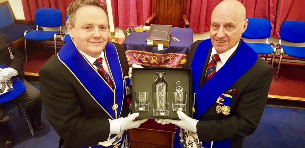 Presentation to WBro David Lightbown PAGDC
