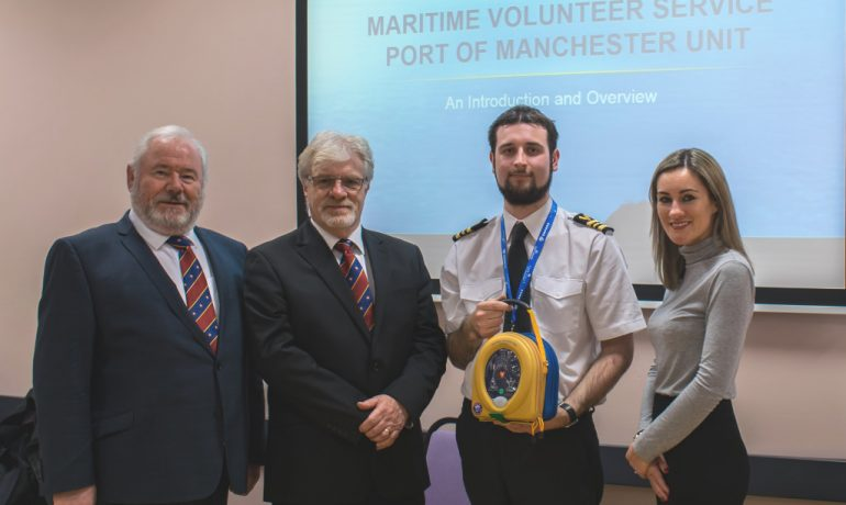 The ELMC funds a Defibrillator for the MVS