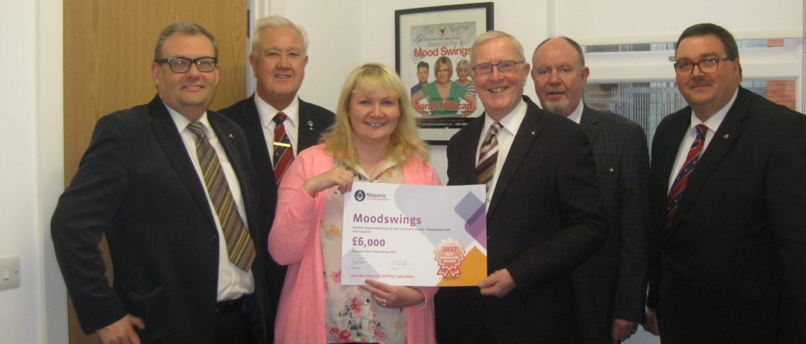 Manchester's Moodswings receives £6000 MCF Award