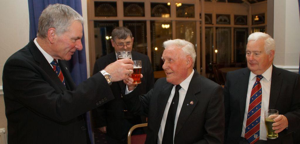 WBro. Bill Fleet celebrates 50 years in Freemasonry at the Lodge of Union No 268