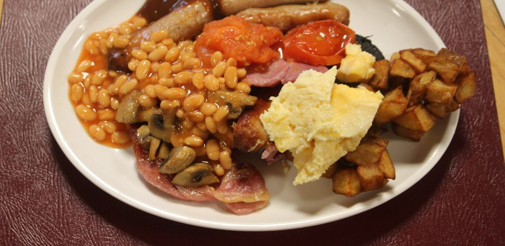 Bacon Butty Club does the Full Monty