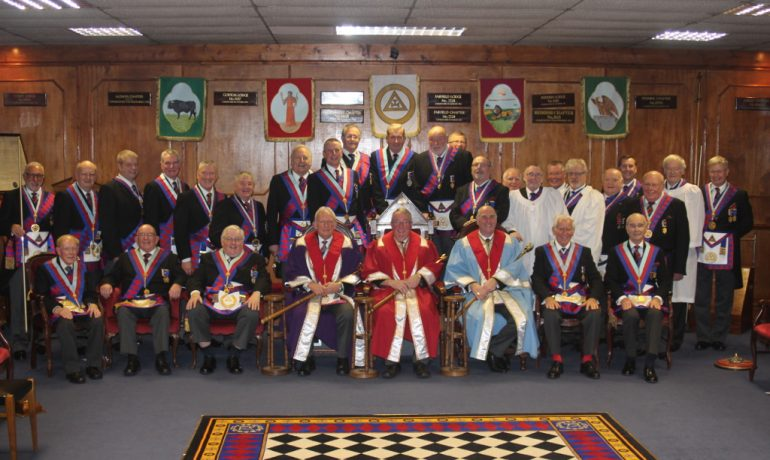 The Golden Jubilee of EComp Donald Roberts' exaltation in to Perseverance Chapter