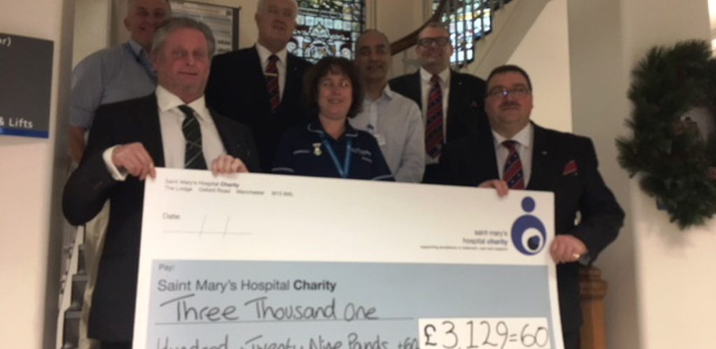 ELMC donation for Vital Incubator for St Mary's Hospital IVF Unit