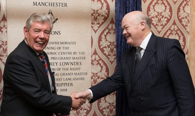 Manchester Freemasons Hall Official Reopening