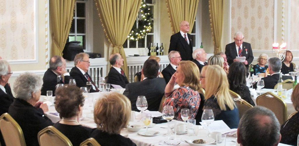 Very special evening at Arkscroll Lodge – WBro Henry Donn's 60th Anniversary