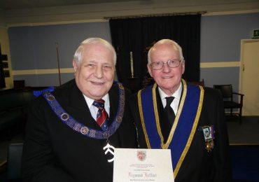 60th Anniversary Celebration of WBro Raymond Haffner, PProvSGW
