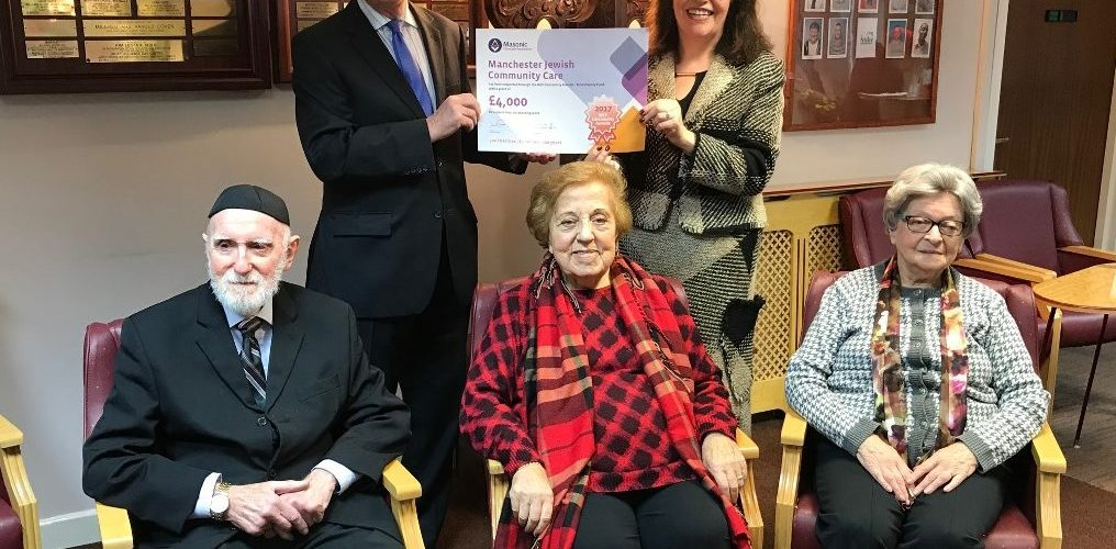 MCF gives Manchester Jewish Community Care £4,000