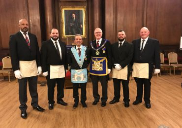 Explanation of the 1st Degree Ceremony at Volunteer Lodge No 2905