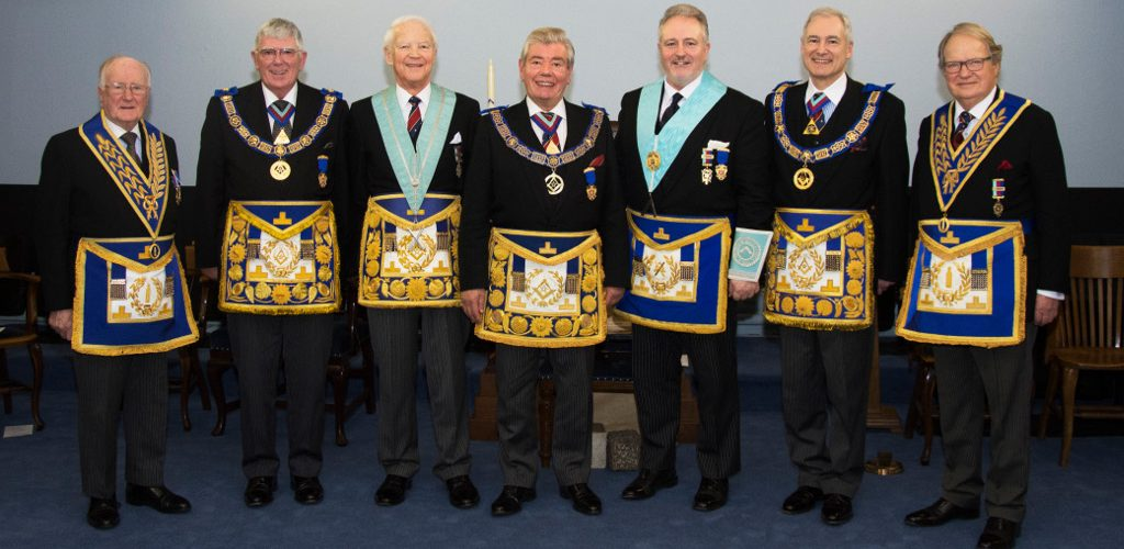 Installation at Prince of Wales Lodge 1012