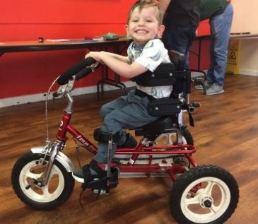 East Ribble District support to help Rico get moving