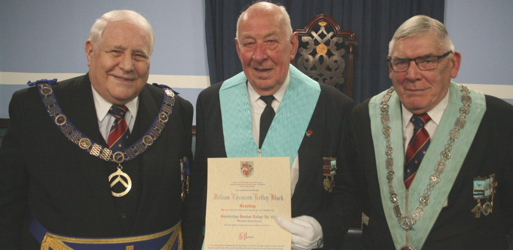 60th Anniversary Celebration of WBro William T K Black