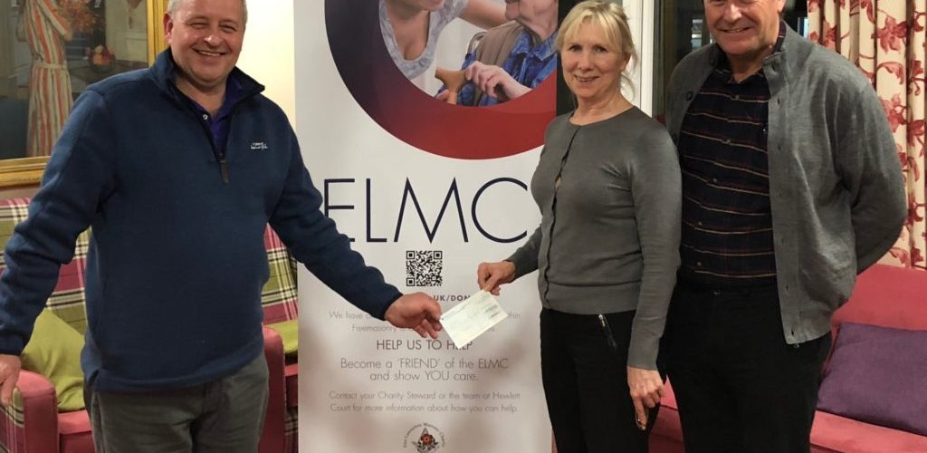 East Ribble Charity Stewards £700 donation to the ELMC