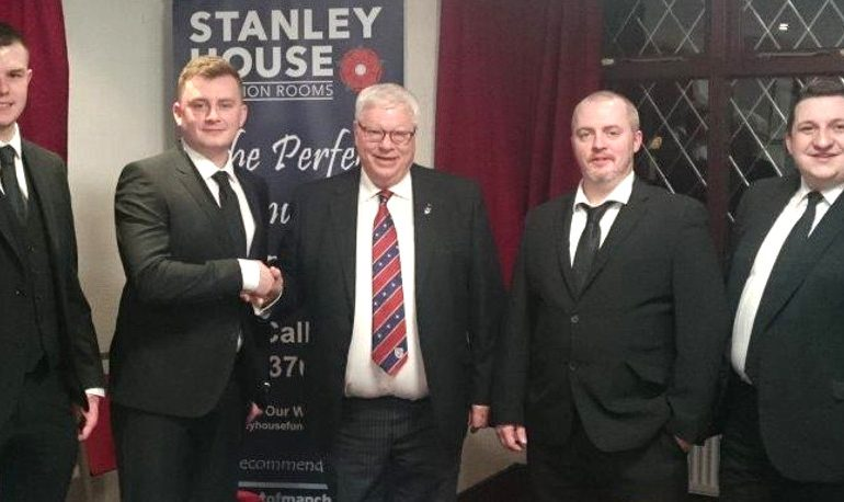 Friday the 23rd March saw Iron Road Lodge perform yet another initiation.