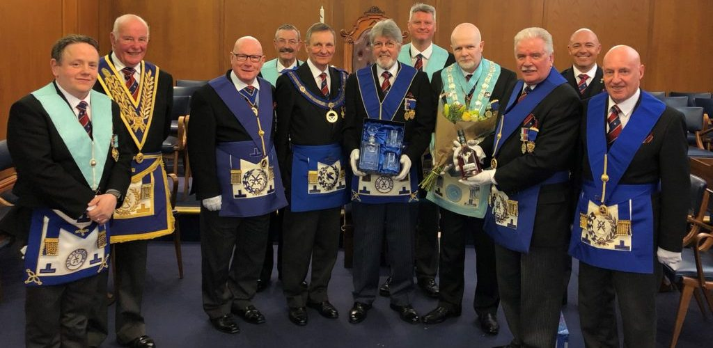 Presentation to WBro Raymond Tattersall