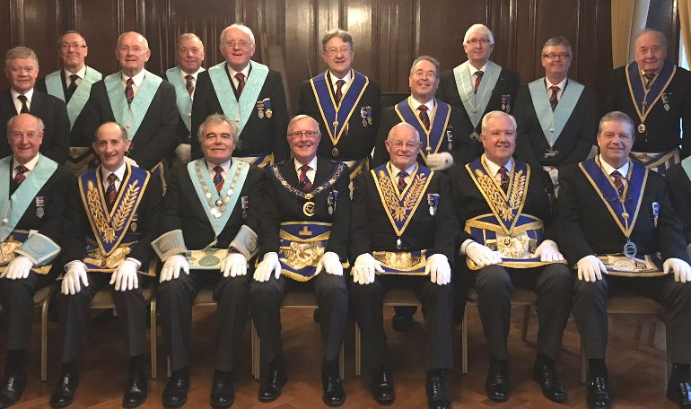 50thAnniversary in Freemasonry for WBro Brian Wetherell, PAGDC