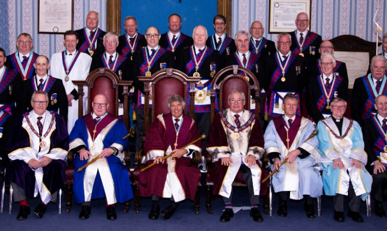 200 Years Celebration at the Chapter of Perseverance No 345