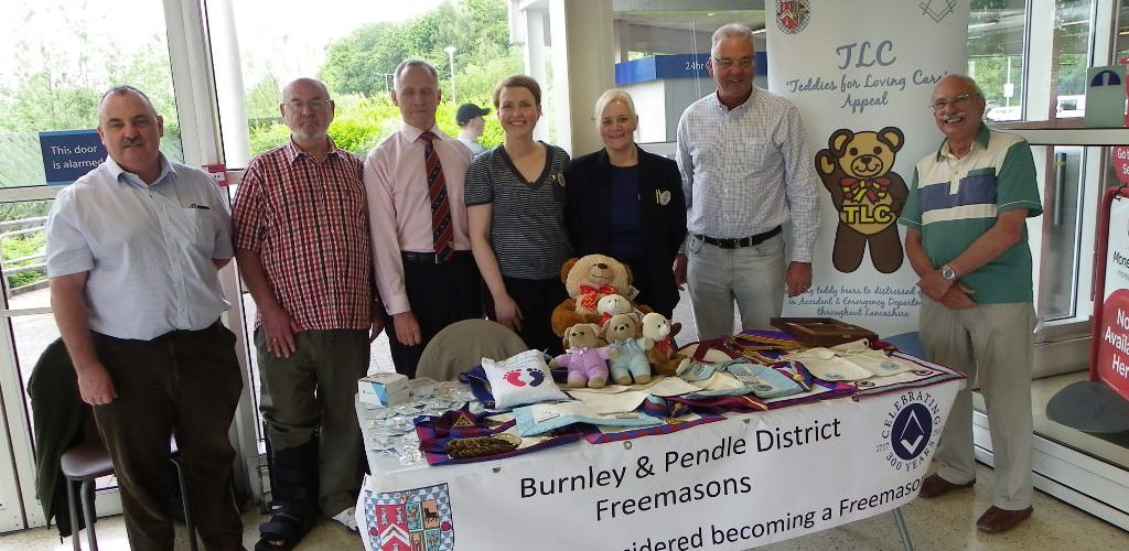"""Burnley and Pendle Freemasons - """"Getting the Word Out"""""""