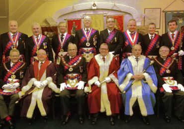 Cana Chapter No 116 hosts the Deputy Grand Superintendent