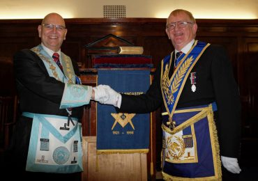 Special Day at Duke of Lancaster Lodge 4207