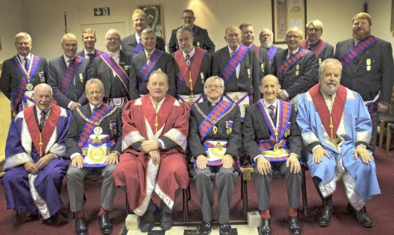 Several Simultaneous Exaltations at Chapter of Friendship No 44