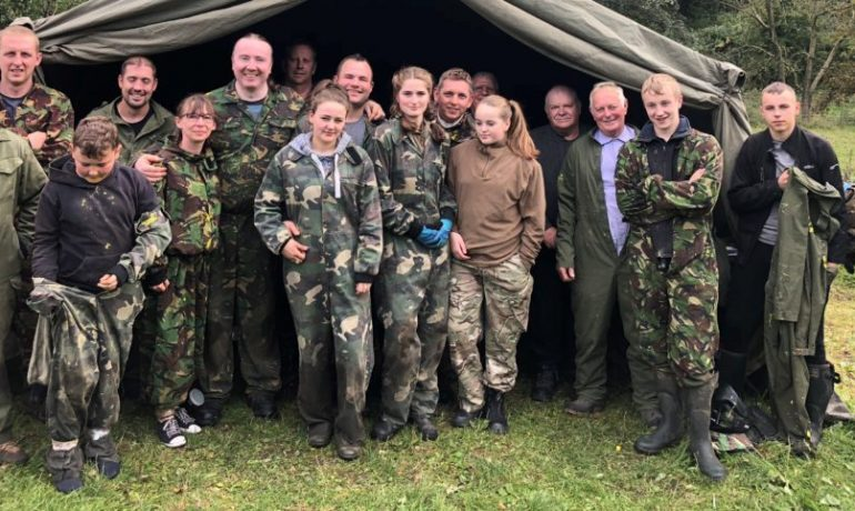 Paintballing with the East Ribble District New Members Group