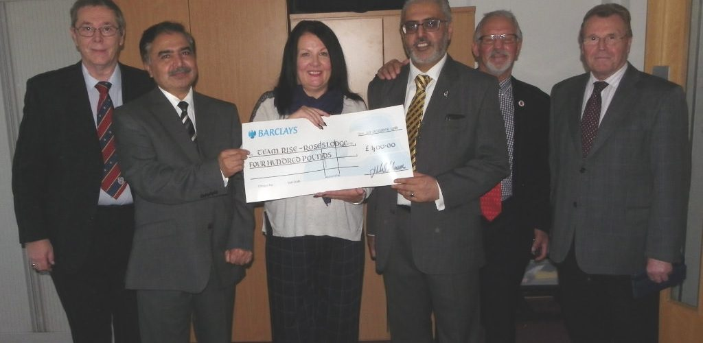 TEAM RISE and the ELMC Benefit from Roses Lodge 5140 fundraising event: