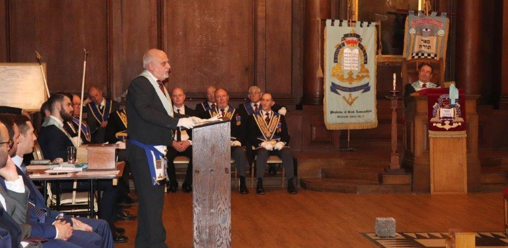 Arkscroll Lodge No 6594 hosts White Table Evening