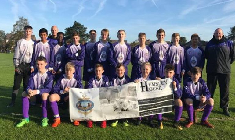 Maritime Lodge 3025 Sponsors the Seedfield Titan's Under 15's