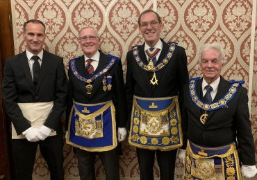 Grand Lodge of Spain comes to Manchester's Caledonian Lodge No 204