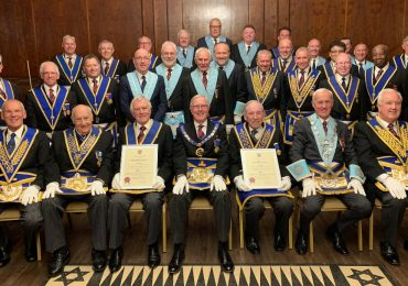 Double 50thCelebration at Commonweal Lodge No 5332