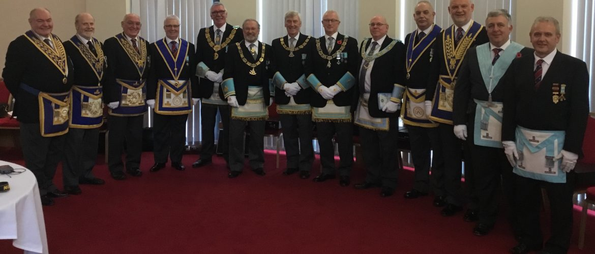 East Lancashire Masons' visit to Belfast