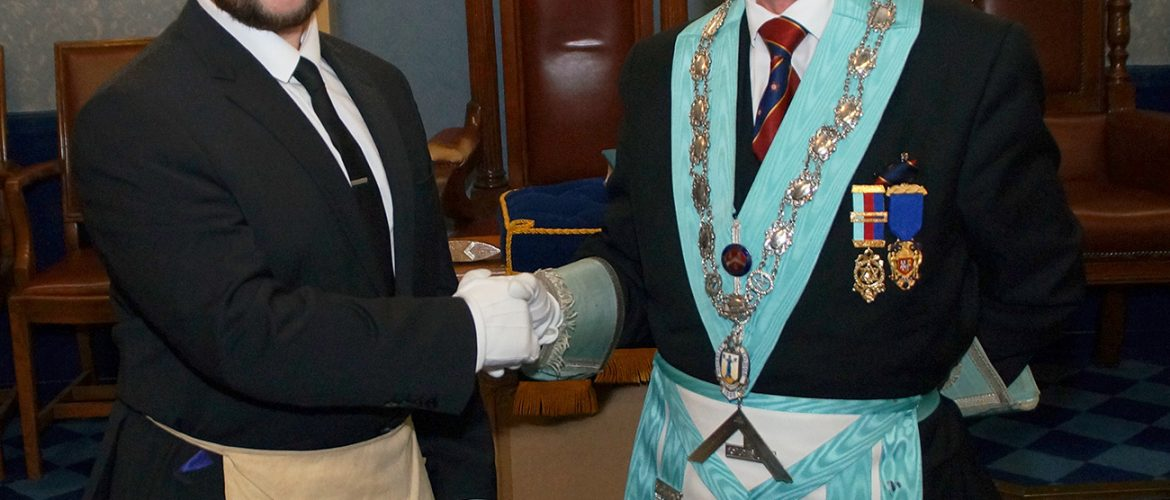 Third Initiation in a year at Waverley Lodge No 1322