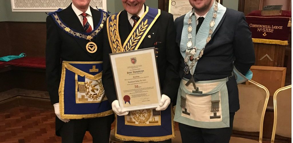 50th Celebration – WBro Peter Humphreys