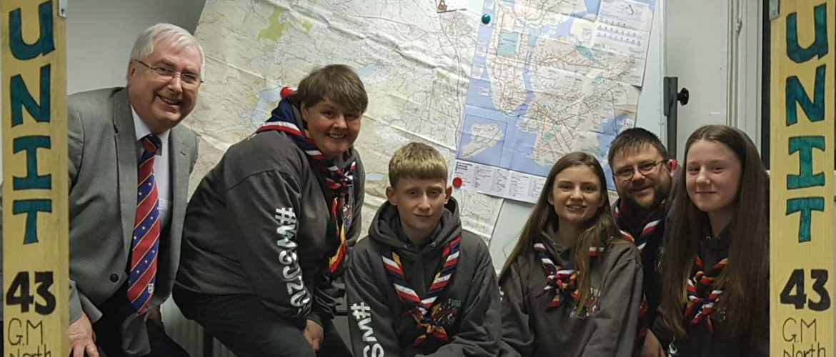 Masonic Charity helps Greater Manchester Scouts prepare for World Jamboree
