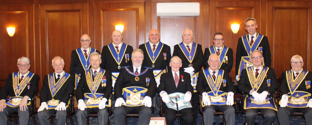 Bro Neville Foote Celebrates 50 Years in Freemasonry